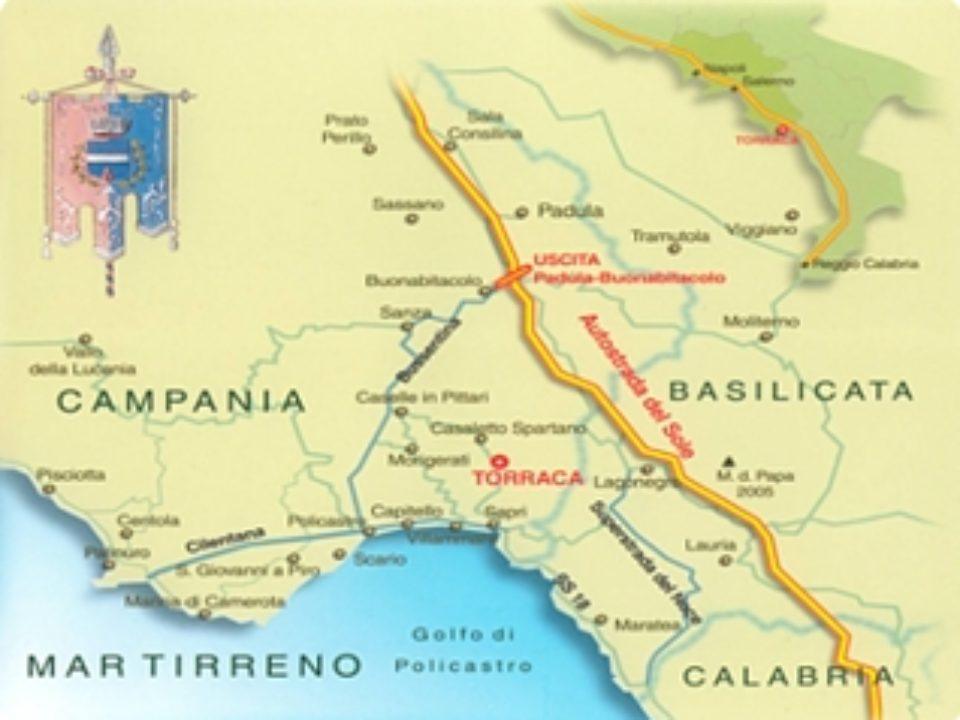 Cartina di Torraca