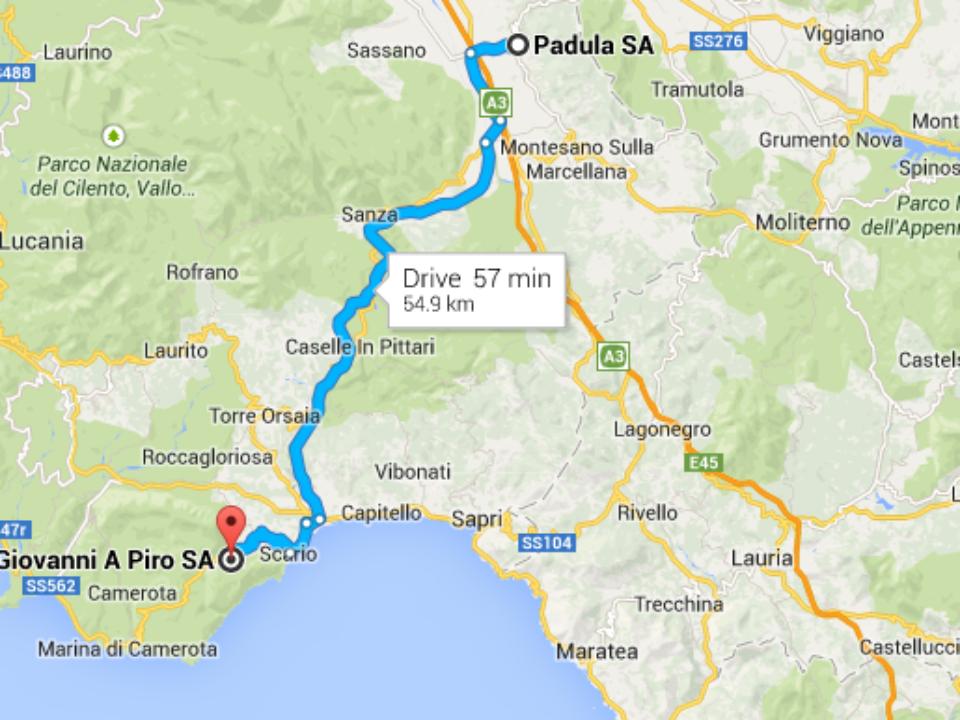 1Mappa San Giovanni a Piro