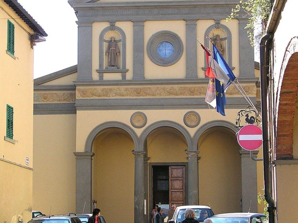 Church in Greve in Chianti