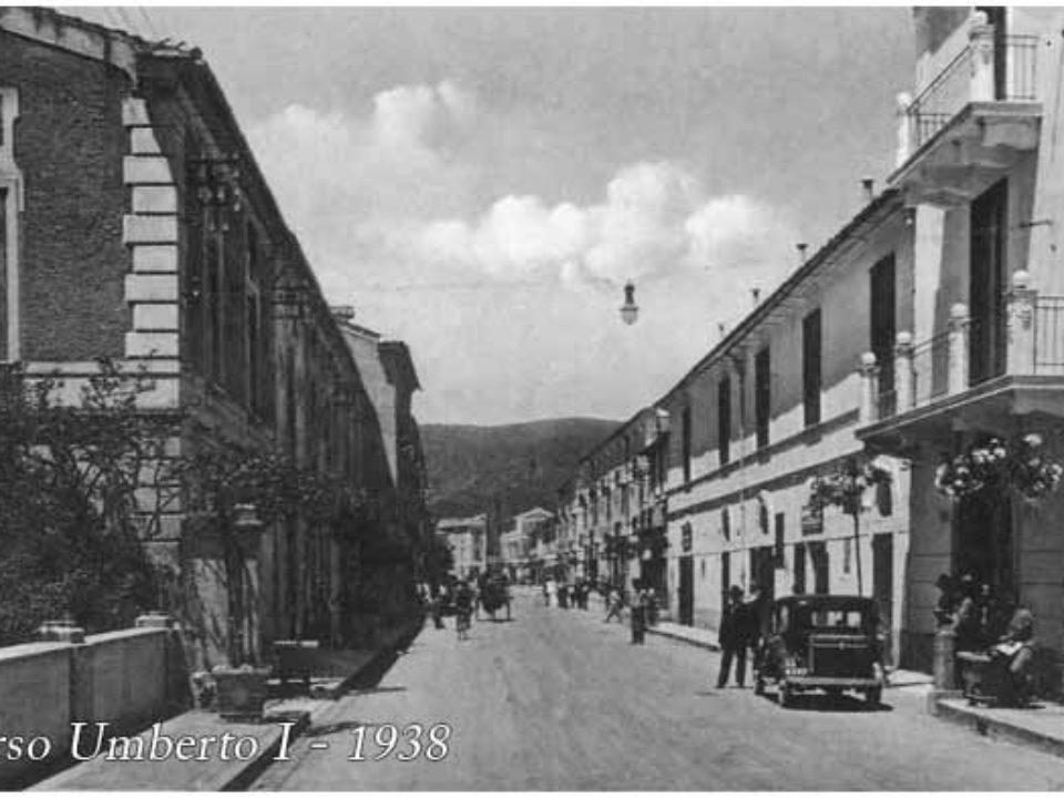 Corso Umberto I - Pontecagnano 1938