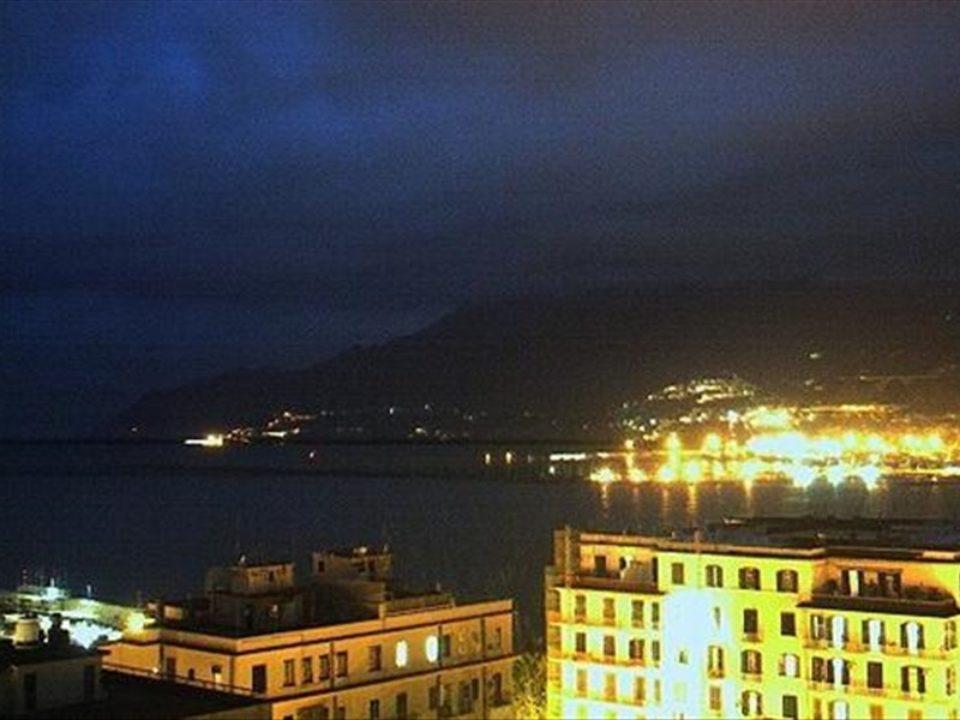 Pontecagnano Faiano at night
