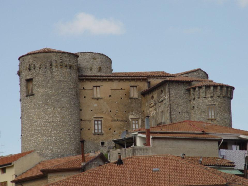 The fortress Roccadaspide Salerno